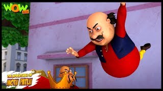 Motu Patlu New Episodes | Cartoons | Kids | Ching Chang Ka Mukut | Wow Kidz