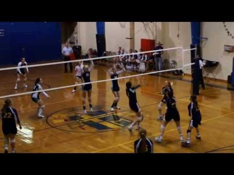 Seton School (Manassas) vs Covenant Girls Volleyball 8 31 2012