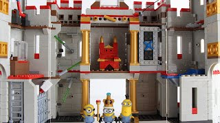 Minions Mega Bloks Castle Adventure PLUS a Mini Minions Episode