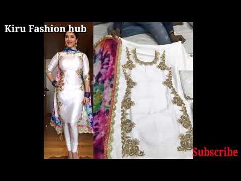 Latest white suit designs || white Punjabi suit collection 2018-2019