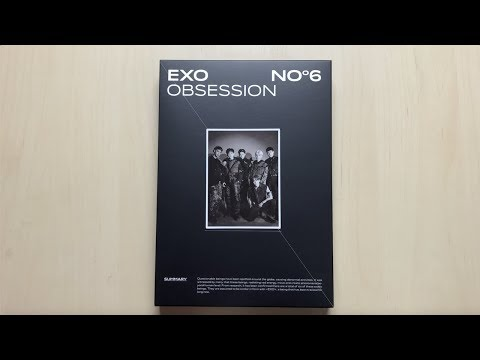 Download ♡Unboxing EXO 엑소 6th Studio Album Obsession 옵세션 Obsession Ver.♡ Mp4 baru