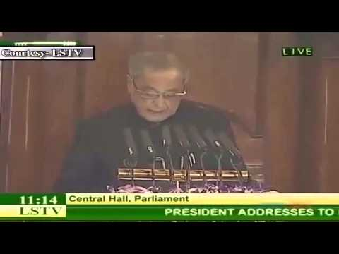 President of India, Shri Pranab Mukherjee, on the Government's stance on MOOCS