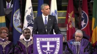 President Obama delivers Eulogy – FULL VIDEO (C-SPAN)