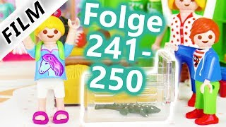 Playmobil Film Deutsch | Folge 241-250 | Kinderserie Familie Vogel | Compilation