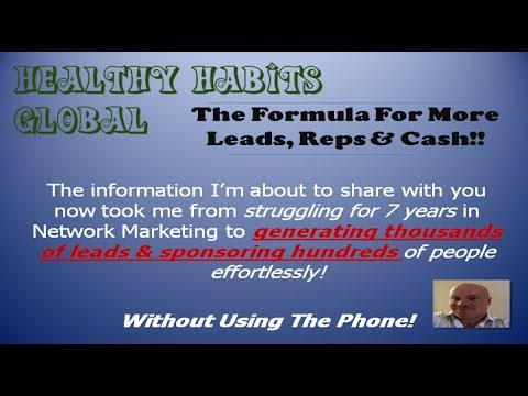 Healthy Habits Global | Use These Concepts For More Reps & Cash...
