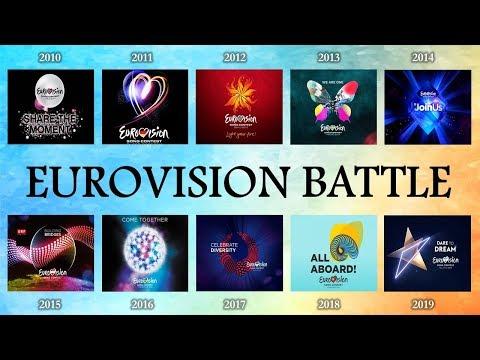 Eurovision 2010 VS 2011 VS 2012 VS 2013 VS 2014 VS 2015 VS  2016 VS 2017 VS 2018 VS 2019