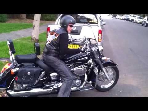 Honda Shadow VT 750 C4 2007 Exhaust Modified