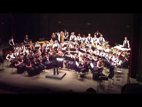 Jamestown symphonic band (The Great Locomotive Chase)