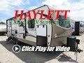 HaylettRV - 2018 Rockwood 2606WS Ultra Lite Rear Bath Closet Slide Couple's Travel Trailer