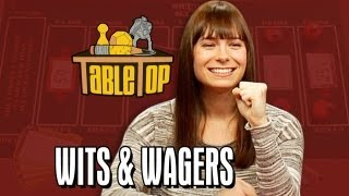 Wits & Wagers_ Veronica Belmont, Phil LaMarr, and Jimmy Wong join Wil on TableTop, episode 13