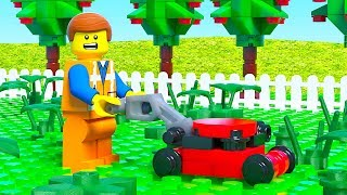 LEGO Movie 2 Lawn Mower Fail