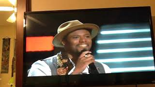 ZAXAI - PERFOMANCE- COME AND GET YOUR LOVE- THE VOICE SEASON 15  BLIND AUDITIONS  OCT 8 2018.