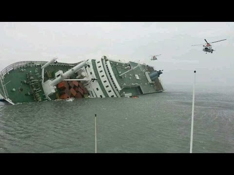 Two Dead, Hundreds Missing After Ferry Sinks Off South Korea Coast