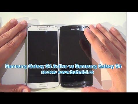 Samsung Galaxy S4 Active versus Galaxy S4. Mega 6.3 (www.buhnici.ro) 2013