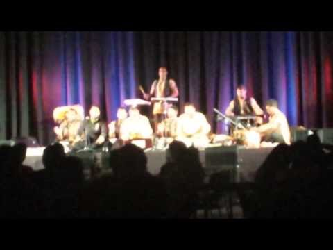 Wadali Brothers live in Auckland 2014 singing Charkha