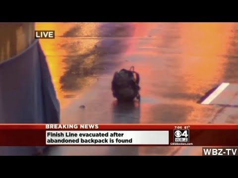 Boston Police Detonate Unattended Bags At Finish Line