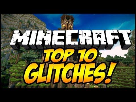 Minecraft: TOP 10 Minecraft Glitches! (1.7.2/1.7.5) - 2014 [HD]