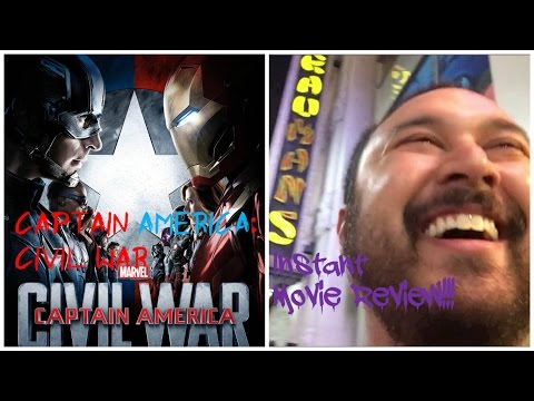 Captain America: Civil War - Instant Movie Review!!!