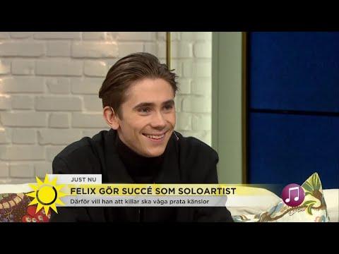 """Felix Sandman: """"Därför vill jag att killar ska våga prata om känslor"""" - Nyhetsmorgon (TV4)"""