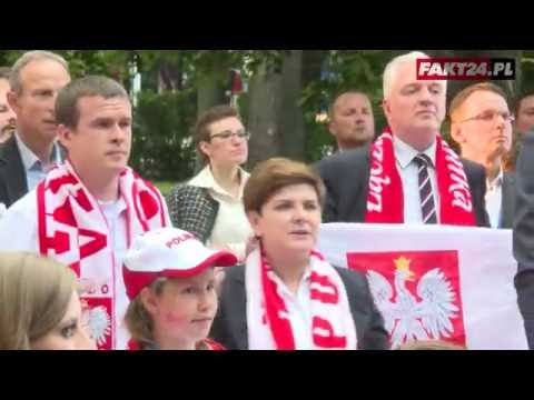 Euro 2016: Reakcja premier Beaty Szydło na mecz Ukraina - Polska!