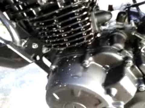 fz16 motor frio.