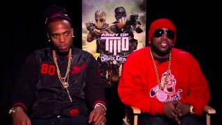 The Devil's Double - 'Army of Two The Devil's Cartel' BIG BOI and B.O.B. Video Game Interview