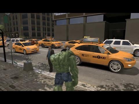 Grand Theft Auto IV - The Incredible Hulk (MOD) HD