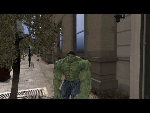 Grand Theft Auto IV - The Incredible Hulk (MOD) HD