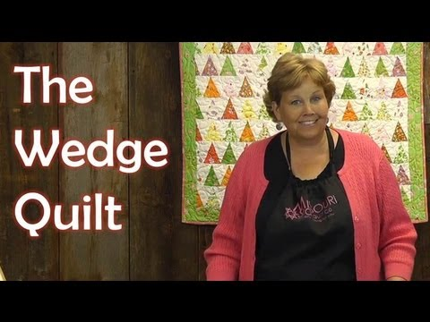 The Wedge Quilt Using Charm Packs