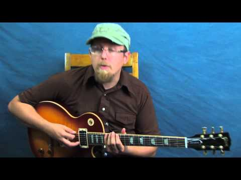 Learn lead guitar Steely Dan inspired solo lesson outside the box triplet licks over shuffle groove