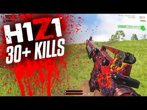30+ KILL GAME! - H1Z1 KING OF THE KILL