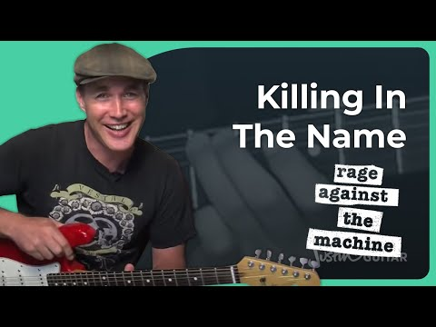 How To Play Killing In Name By Rage Against The Machine (guitar Lesson Sb-313) video