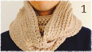 手編みしよう♪スヌードの簡単な編み方・編み図【かぎ針編み】