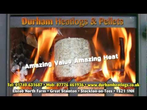 Durham Heat Logs & Pellets - Golden Coal Heat Logs & Pellets The Best In The UK & Carbon Neutral