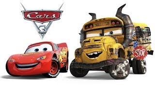 CARS 3 FRANCAIS EPISODE COMPLET JEU Flash McQueen Combat de Miss Fritter Disney France Films de jeux
