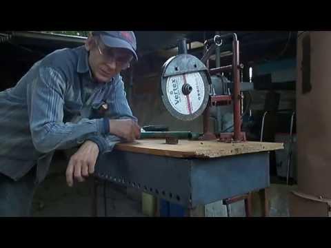 Маятниковая пила по металлу своими руками видео