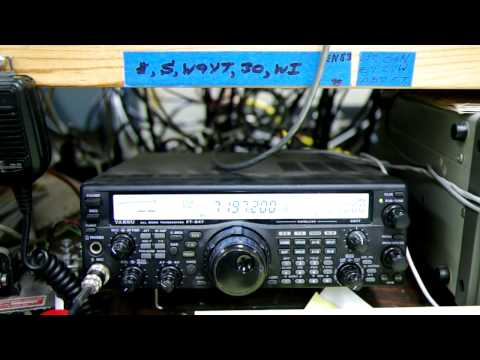 CQWW DX SSB 2011: DR1A in Wisconsin (W9) on 40m