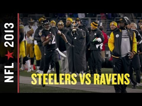 Mike Tomlin dodges Jacoby Jones in Steelers loss to Ravens
