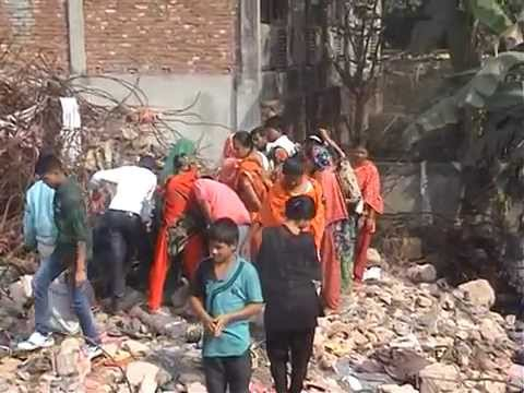 Rana Plaza: Bones and Skull found after one year