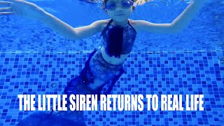 ARIEL THE LITTLE MERMAID RETURNS TO REAL LIFE