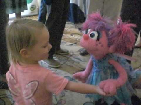 Ande Meets Abby Cadabby Video