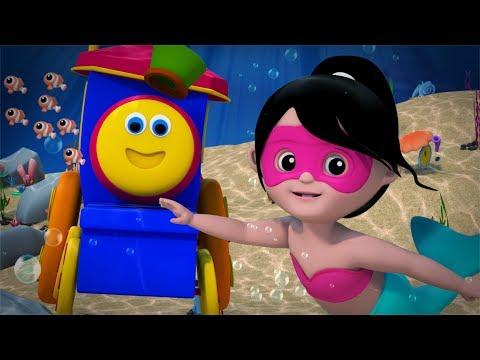 Wonderful World Of The Sea Original Nursery Rhymes Baby Songs Bob The Train Bob Cartoons S03EP14