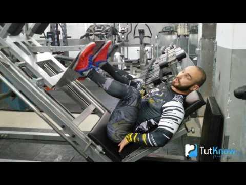 Жим ногами - ошибки новичков в упражнении