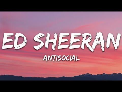 Download Lagu  Ed Sheeran - Antisocial s ft. Travis Scott Mp3 Free