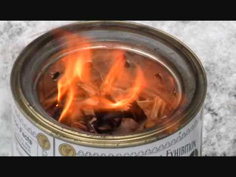 Home Brew Wood-Gasification Camp Stove