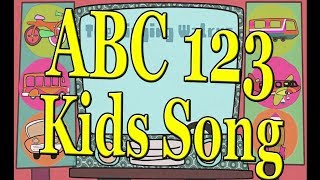 Alphabet Songs,  Learn Numbers, Shape Songs Collections for Kids
