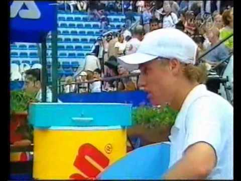 Lleyton Hewitt vs. Alex Corretja (Roma 2001 - Last 16)