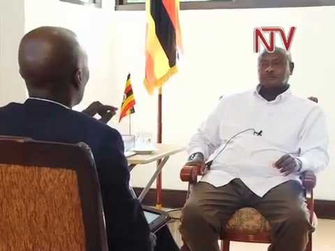 Museveni: Term limits debate 'nonsense'