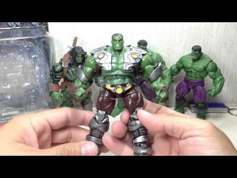 Hulk Marvel Infinite Series Indestructible Hulk 3 75 inch Toy Review