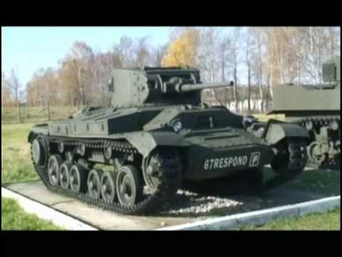Бронетехника второй мировой войны. Английские танки.